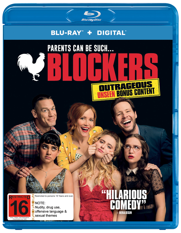Blockers on Blu-ray