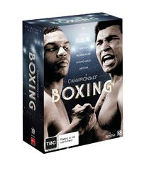 Boxing's Greatest Champions Collector's Edition on DVD