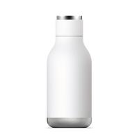 Asobu Urban Insulated Bottle - White (500ml)