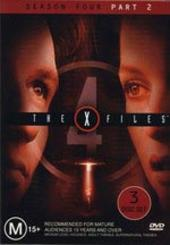 X-Files, The Season 4: Part 2 (3 Disc) on DVD