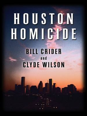 Houston Homicide by Bill Crider image