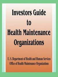 Investor's Guide to Health Maintenance Organizations by Books for Business image