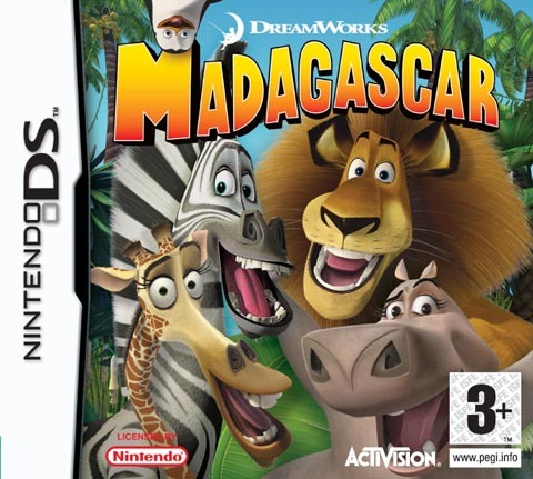 Madagascar for Nintendo DS