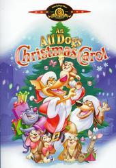 An All Dogs Christmas Carol on DVD