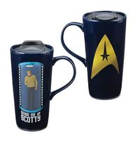 Star Trek - Beam Me Up Scotty Heat Change Travel Mug