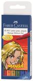 Faber Castell: Pitt Shonen Manga Artist Pens - 6 Pack