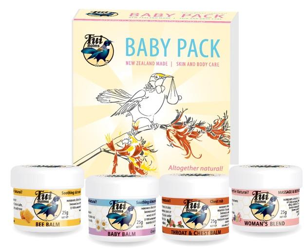 Tui Balm - Baby Balm Gift Pack (4x 25g)