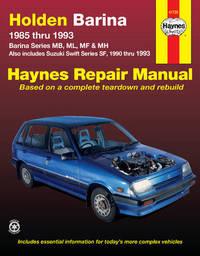 Holden Barina (85 - 93) by Haynes Publishing