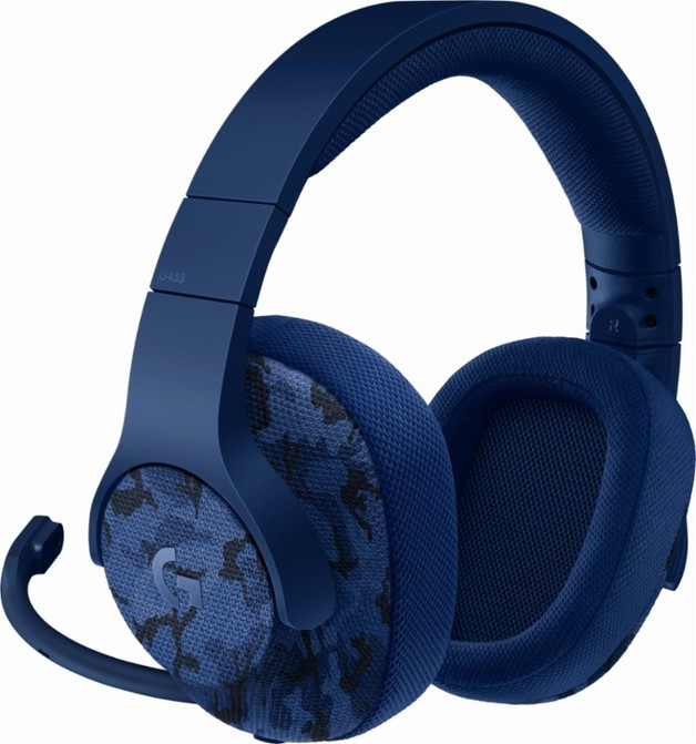 Logitech G433 7.1 Surround Gaming Headset - Camo for PC