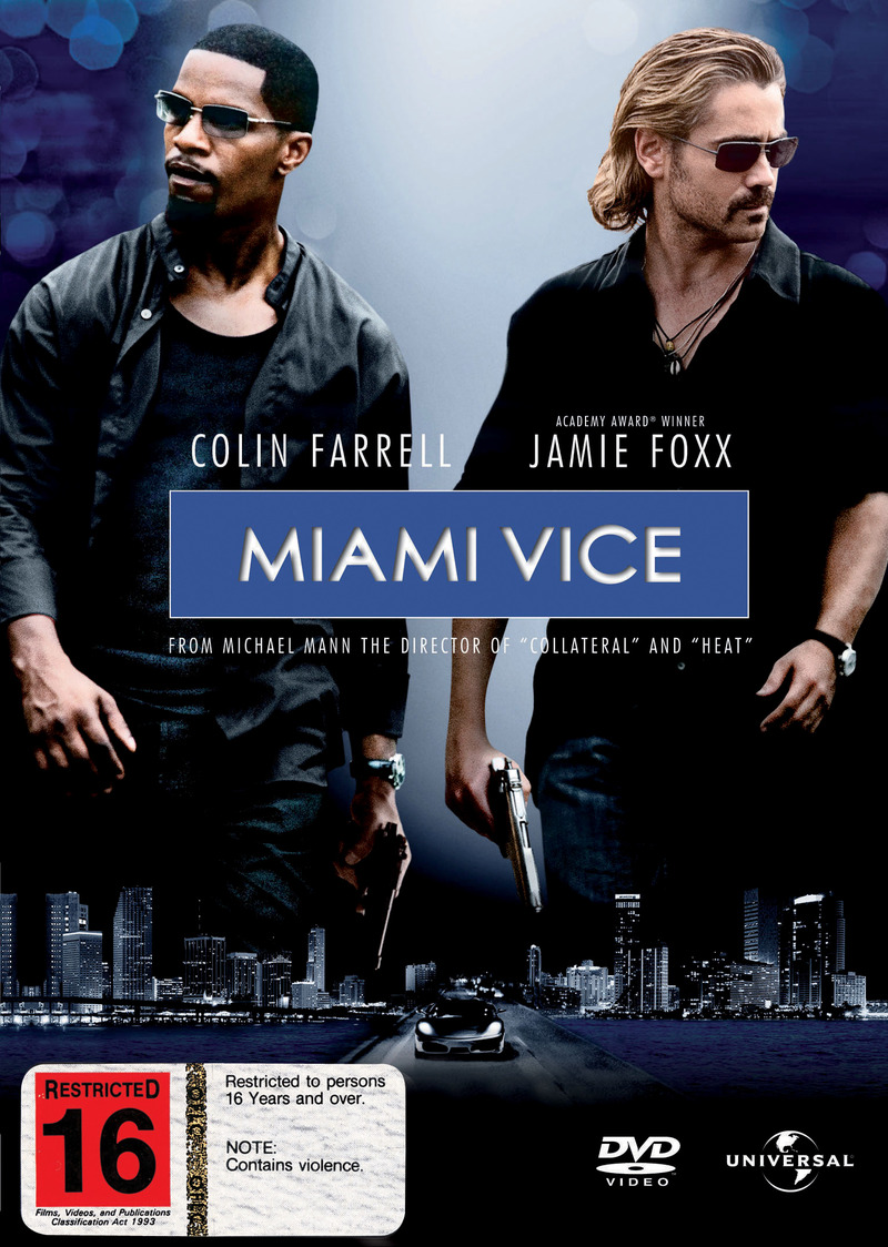 Miami Vice (2006) on DVD image