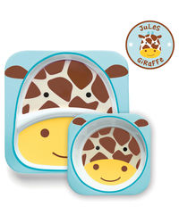 Skip Hop: Zoo Melamine Set - Giraffe