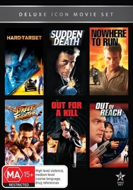 Movie Marathon - Volume 11: Jean-Claude Van Damme & Steven Seagal (6 Pack) on DVD