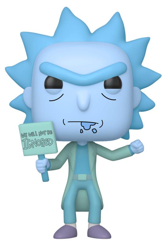 Rick & Morty - Hologram Rick (Ignored) Pop! Vinyl Figure
