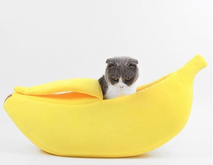 Banana Cat Bed image