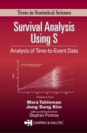 Survival Analysis Using S by Mara Tableman image