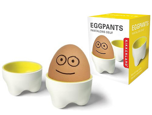 Egg Pants Egg Cups (set 2) - by Kikkerland
