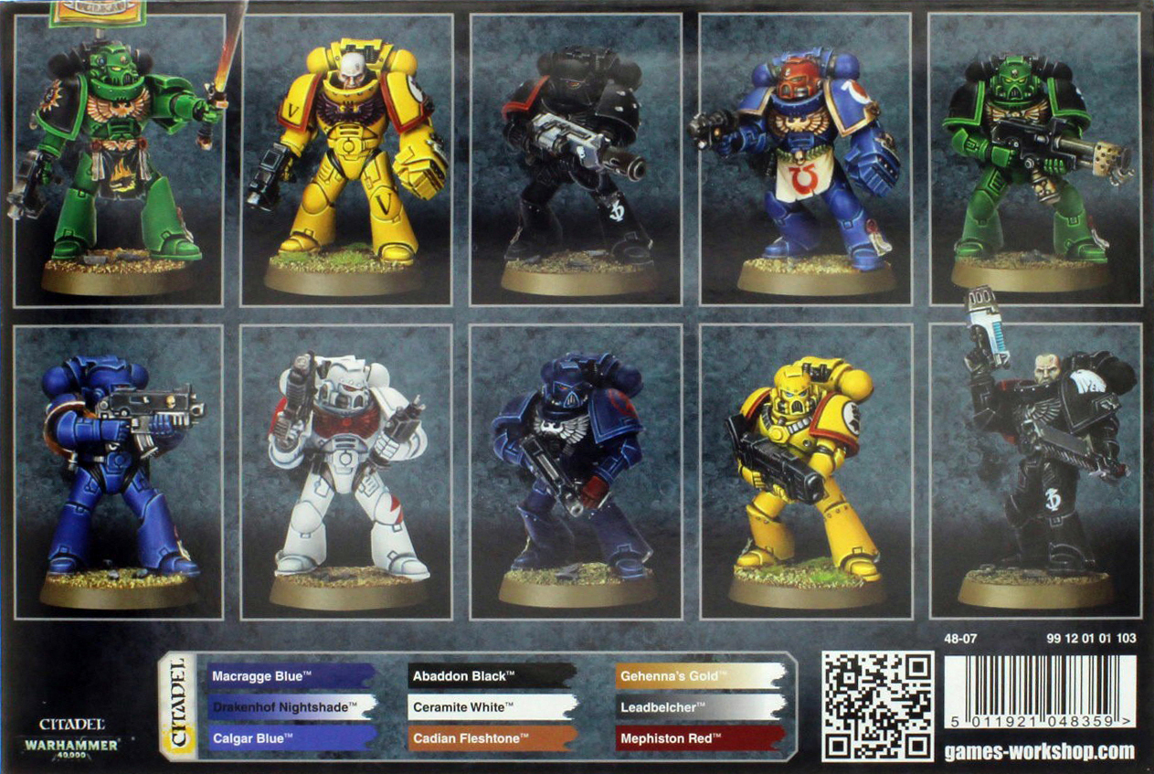 Space Marine Tactical Squad image