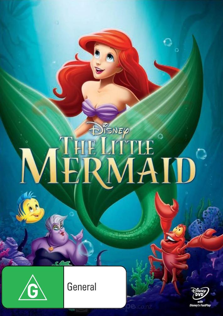 The Little Mermaid on DVD image