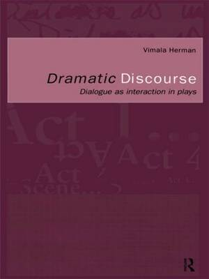 Dramatic Discourse by Vimala Herman image