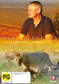 Martin Clunes - A Lion Called Mugie on DVD