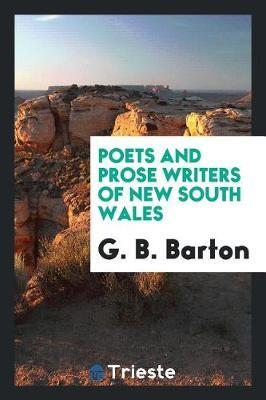The Poets and Prose Writers of New South Wales by G. Barton image