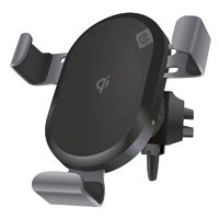 Alogic Air Vent And Dash Mount Wireless Charger With Qi Technology