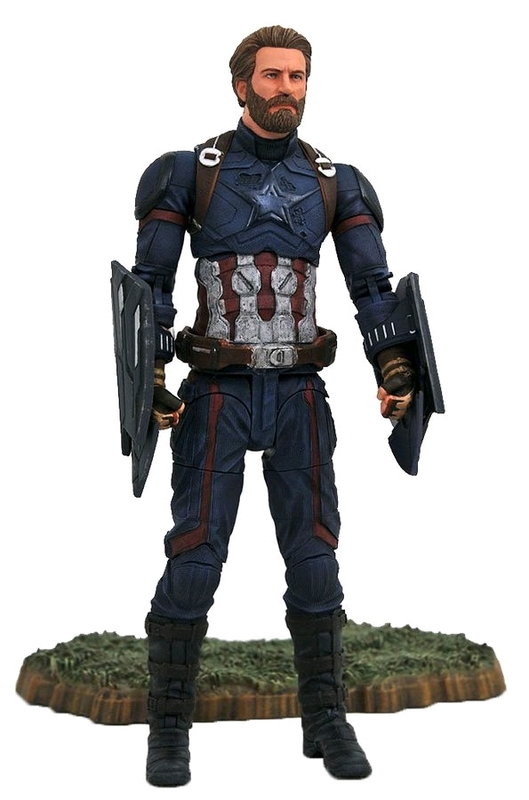 "Marvel Select: Captain America - 7"" Articulated Figure"