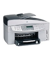 Hewlett-Packard HP Officejet 7210 All-In-One with built in 802.3g ethernet pictbridge USB  interface and 50 sheet Automatic Docu