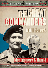 War Collection, The - The Great Commanders: WWII Heroes - Montgomery And Harris on DVD