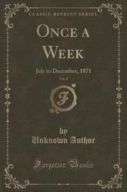Once a Week, Vol. 8 by Unknown Author image