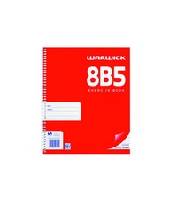 Warwick 8B5 50lf 7mm Ruled Notebook