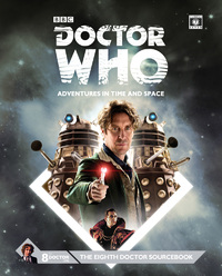 Dr Who Eighth Doctor Sourcebook by Cubicle 7