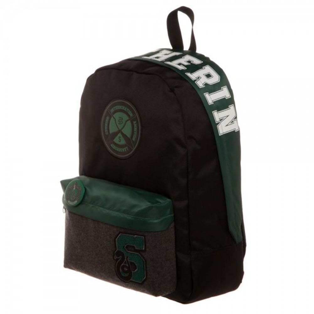 harry potter slytherin backpack men 39 s at mighty ape nz. Black Bedroom Furniture Sets. Home Design Ideas