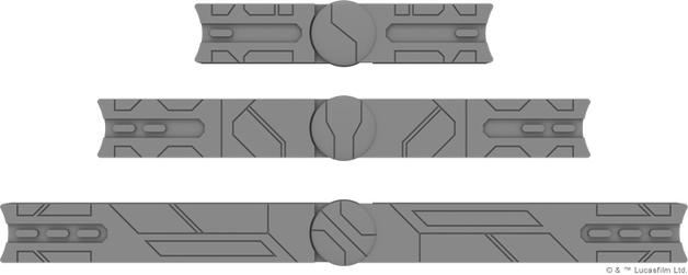 Star Wars Legion: Movement Tools & Range Ruler Pack