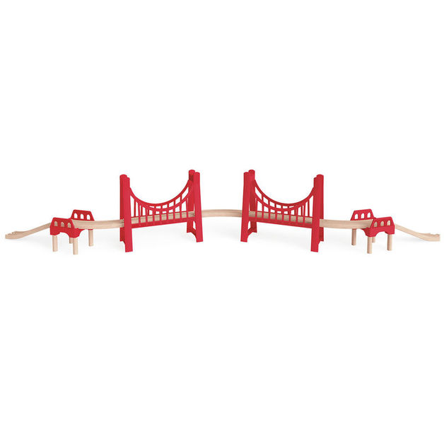 Hape: Extended Double Suspension Bridge
