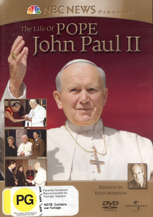 The Life Of Pope John Paul II on DVD image
