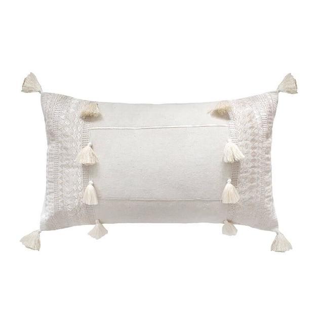 Bambury: Seri Cushion - Ivory (30 x 50cm)