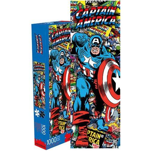 Marvel: 1,000 Piece Slim Puzzle - Captain America Collage