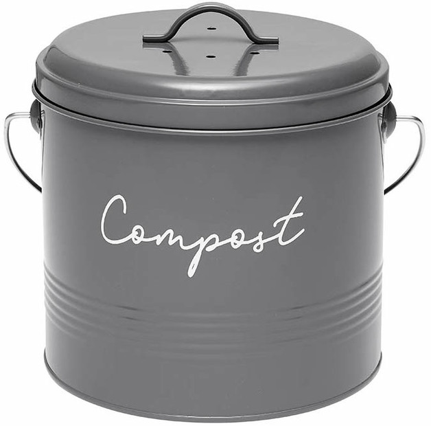 Ladelle: Eco Compost Bin - Charcoal