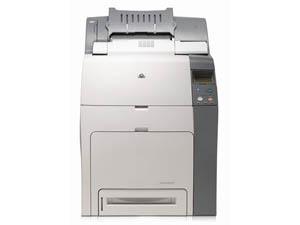 Hewlett-Packard Color LaserJet 4700dtn Printer  image