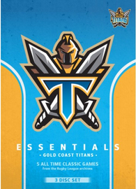 NRL Essentials: Gold Coast Titans on DVD