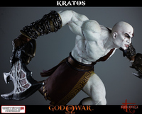 God of War Lunging Kratos 1/4 Statue