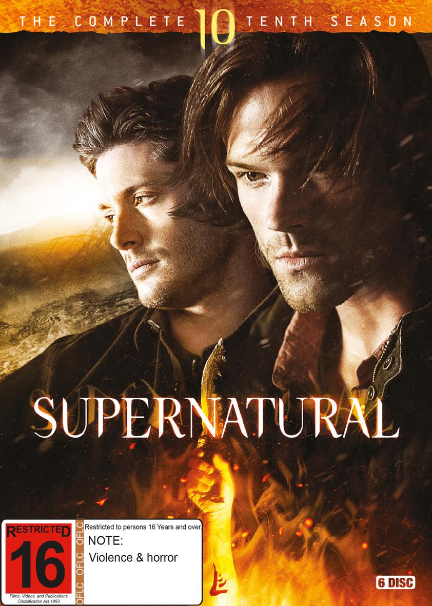 Supernatural - Season 10 on DVD image
