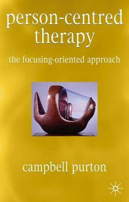 Person-Centred Therapy by Campbell Purton image