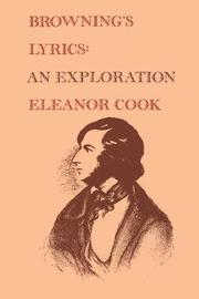 Browning's Lyrics by Eleanor Cook
