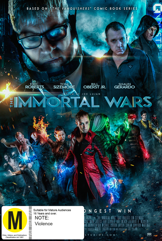 The Immortal Wars on DVD