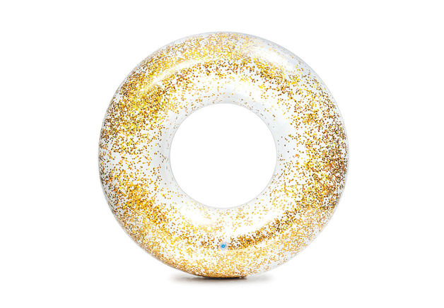 Intex: Sunset Glow Glitter Pool Ring