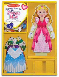 Melissa & Doug: Princess Elise Magnetic Wooden Dress-Up