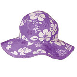 Banz Reversible Sunhat - Purple Turtle