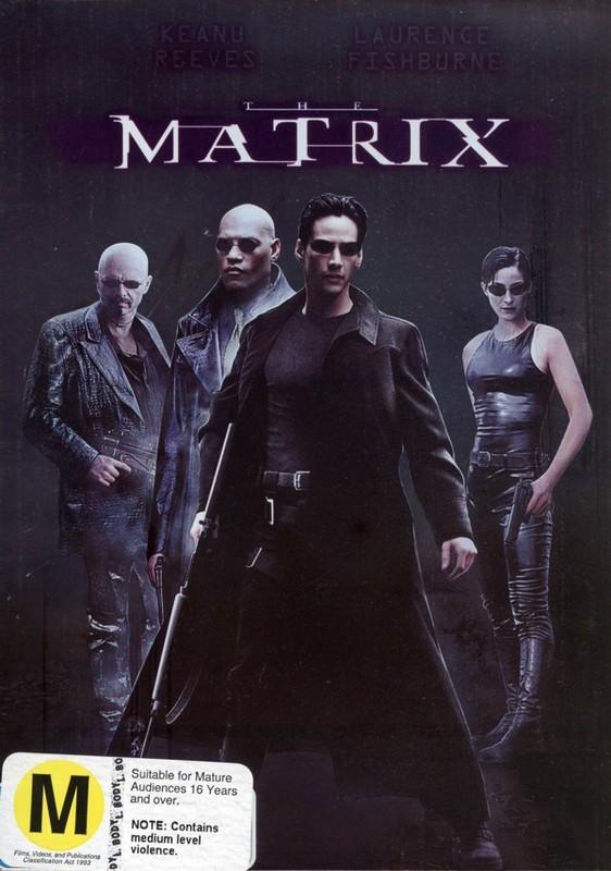 The Matrix on DVD